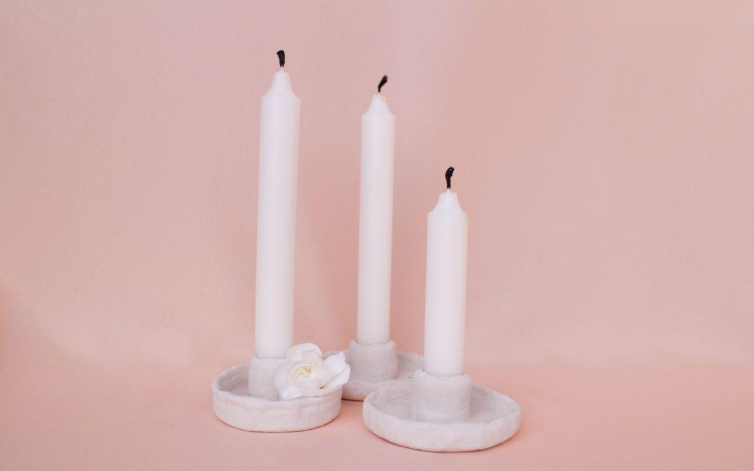 Ako vyrobiť svietniky na svadbu len z 2 materiálov